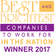 National Best and Brightest 2017 Winner logo