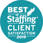 2019 best of staffing award
