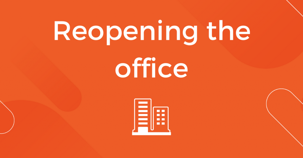 Reopening the Office