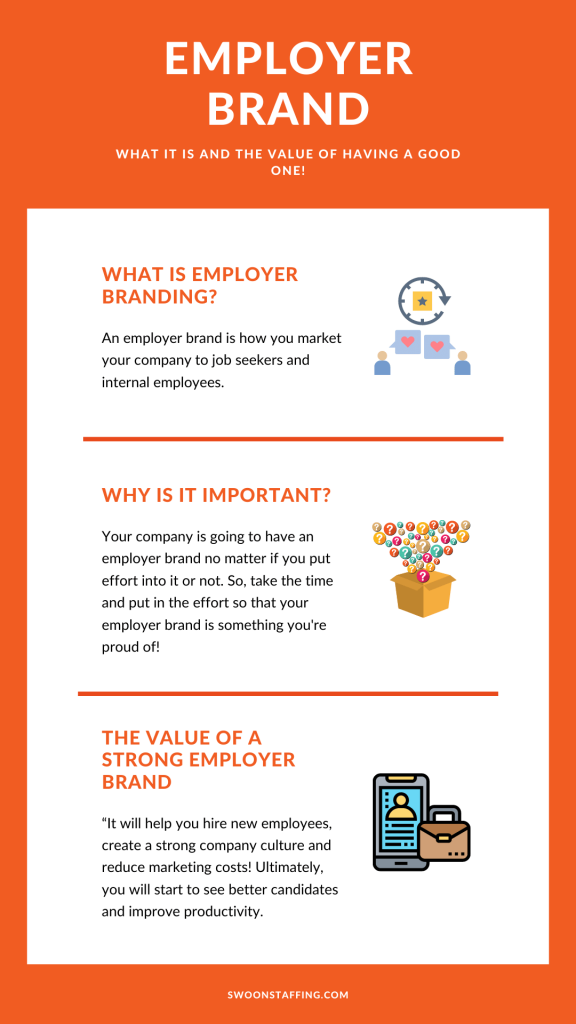 Employer brand - what is it, why it's important and the value of having a strong employer brand